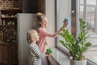 Jak myć okna bez smug?